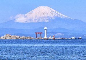 鳥居富士山-名島鳥居