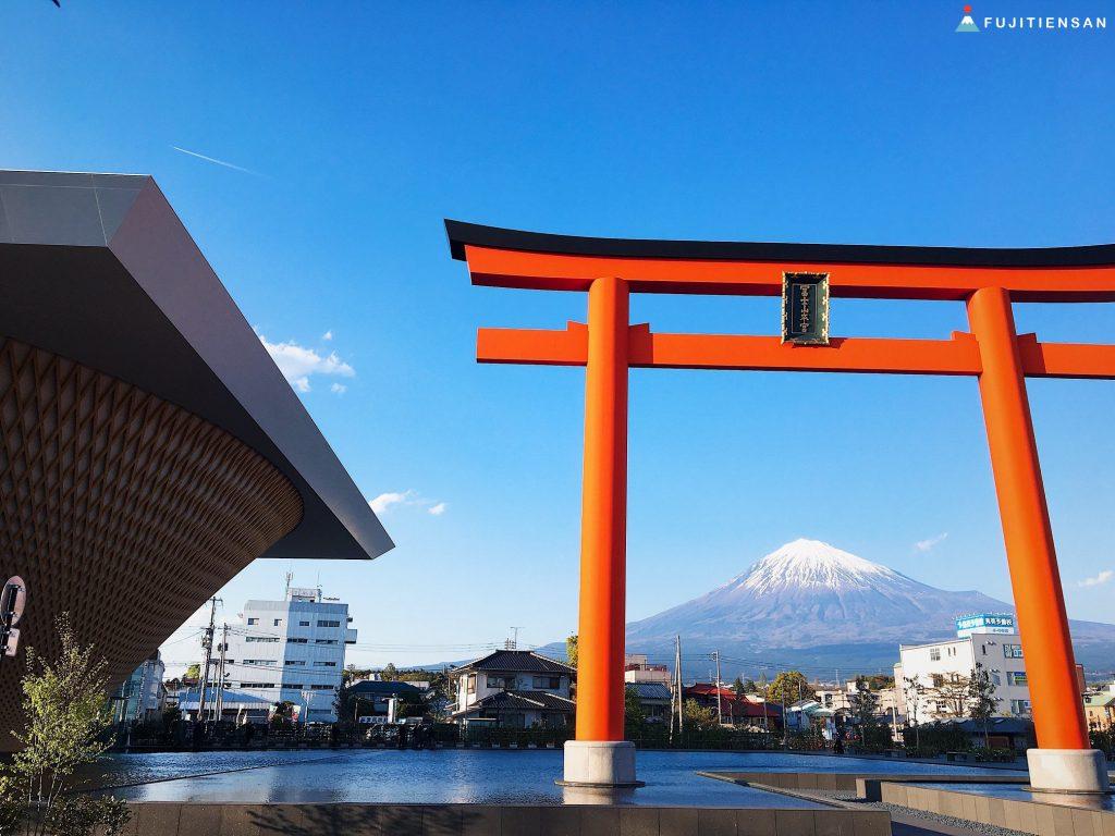 鳥居富士山-富士山世界遺產中心