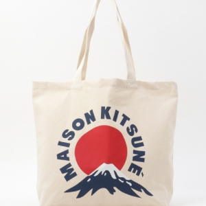 富士山托特包_MAISON KITSUNE
