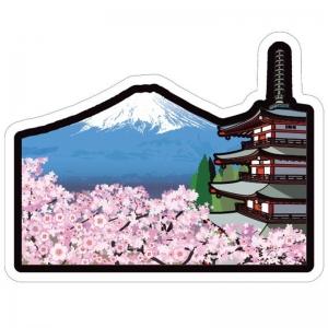 富士山明信片_世界遺產系列-新倉山淺間神社