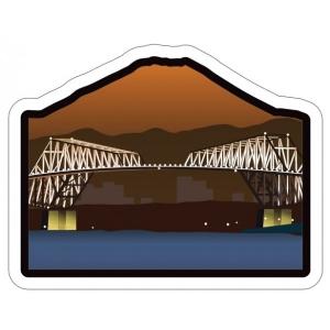 富士山明信片_世界遺產系列-東京京門大橋