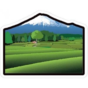 富士山明信片_世界遺產系列-茶園