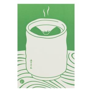 富士山明信片_富士山茶葉