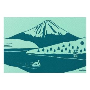 富士山明信片_能量箱根