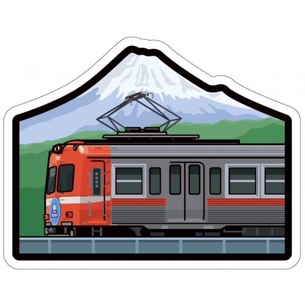 富士山明信片_鐵道-日本之旅系列