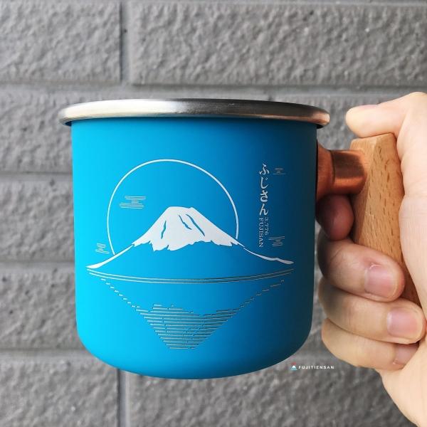 富士山木柄白鐵杯_truvii