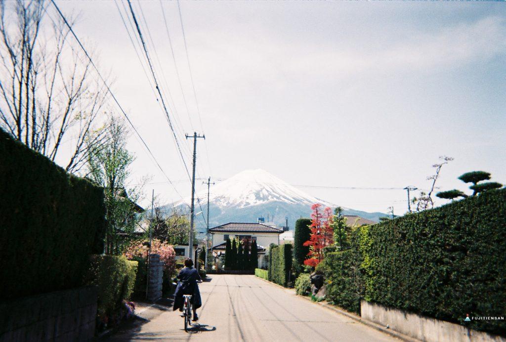 富士山河口湖_逆富士_租腳踏車