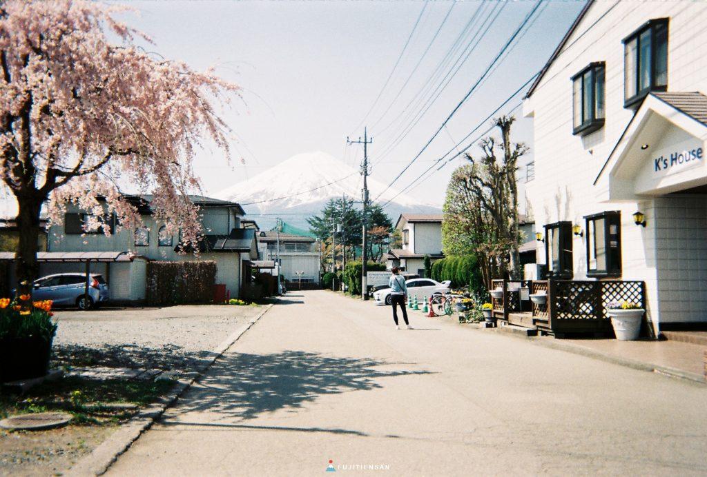 富士山河口湖_逆富士_k's house fuji view