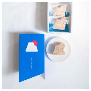 富士山紅豆麻糬和菓子_田子の月