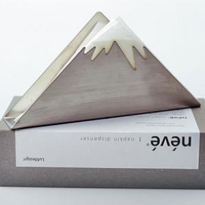 富士山餐巾紙架_Luf design