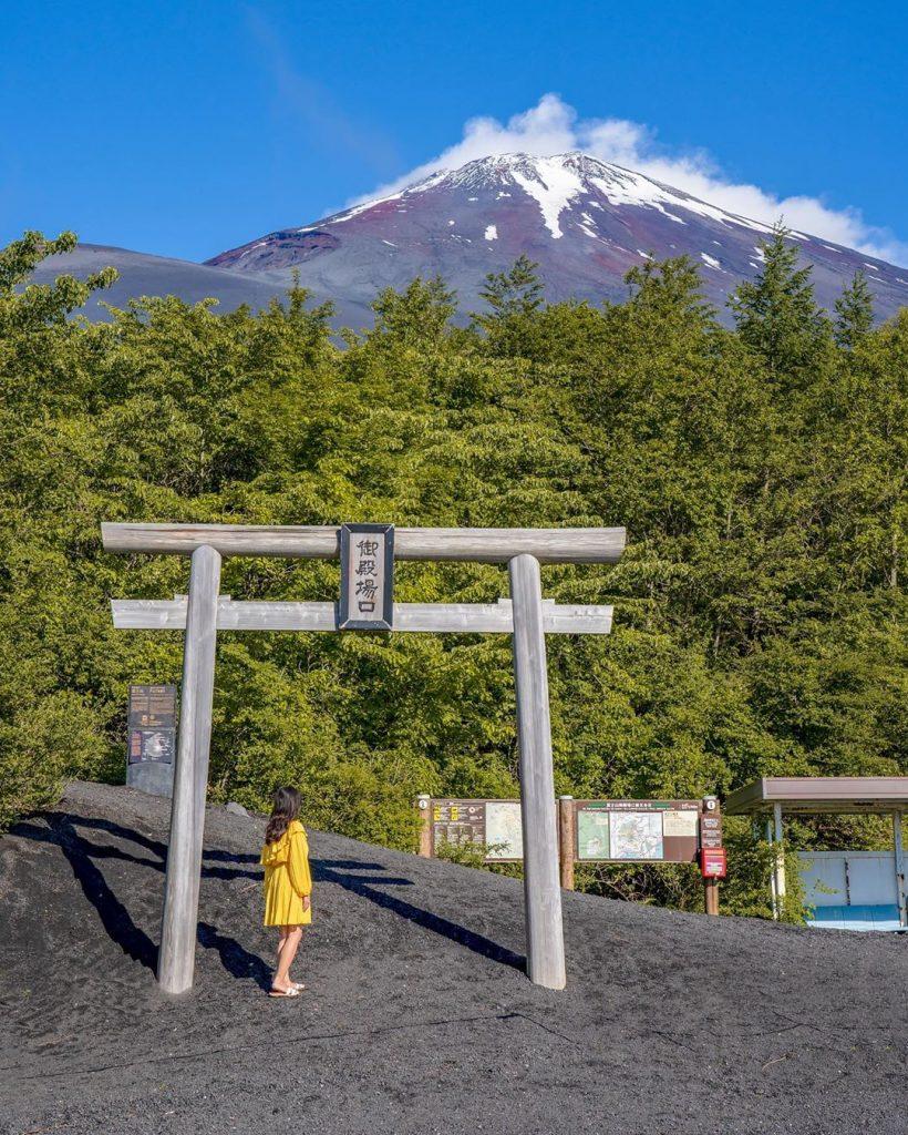 鳥居富士山-御殿場口新五合目