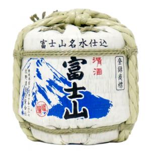 日式酒造桶造型富士山清酒_牧野酒造