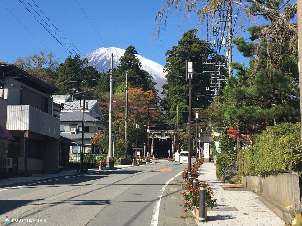 鳥居富士山-東口本宮富士淺間神社