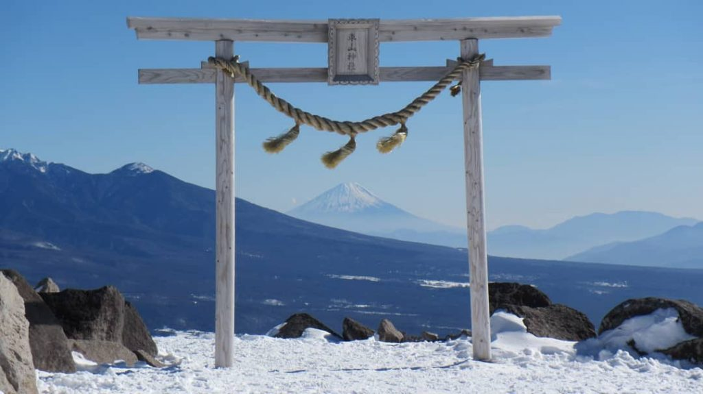鳥居富士山-車山神社