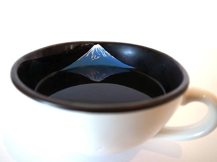 富士山小物_逆富士杯_nagae