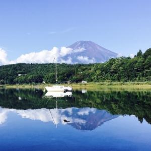 逆富士_山中湖