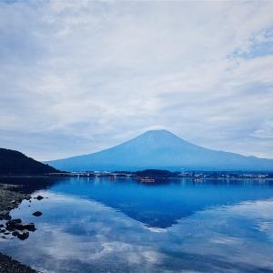 逆富士_河口湖