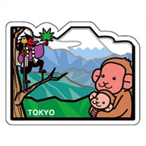 富士山明信片_東京高尾山