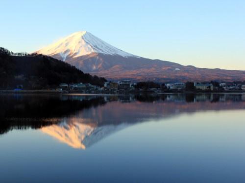 富士山河口湖_逆富士_富士吟景