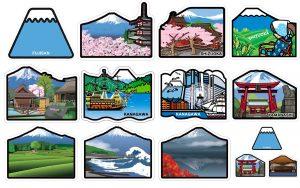 富士山明信片_郵便局當地造型明信片封面