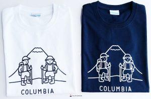 noritake columbia 富士山衣服 t-shirt 封面