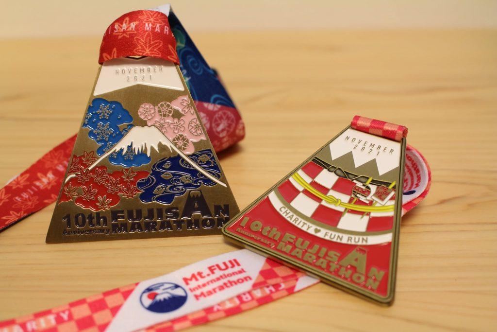 2021 富士山馬拉松 完賽獎牌